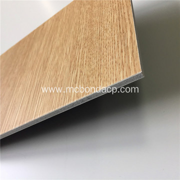 Best Price Wood Texture Metal Composite Panel